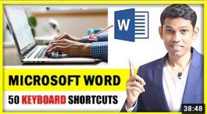 MICROSOFT WORD SHORTCUTS